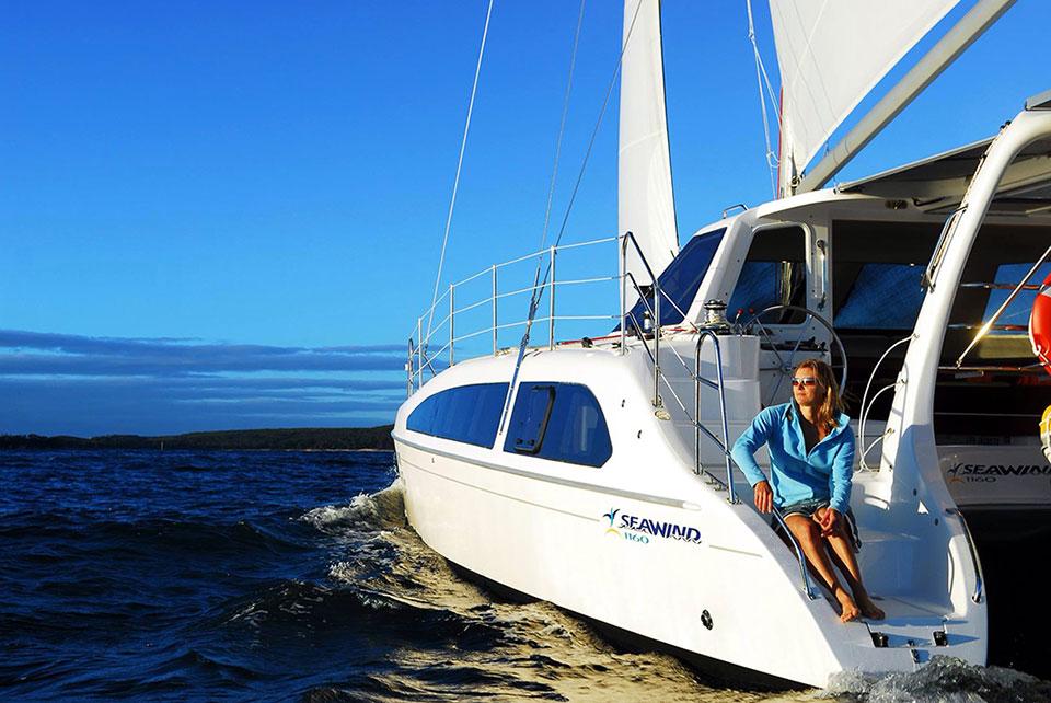 Catamaran Charter Krabi - Seawind 1160 - Boat in the Bay Phuket