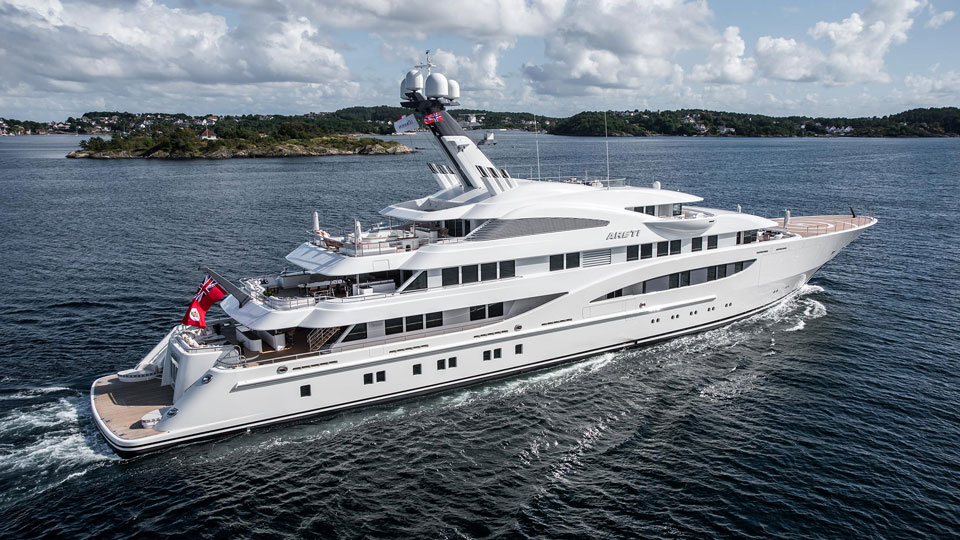 Areti at Monaco yacht Show 2017