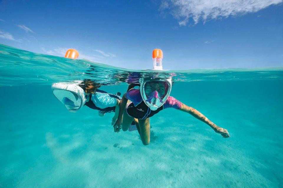 Yacht Charter Toys in Phuket: Full Face Snorkel Mask